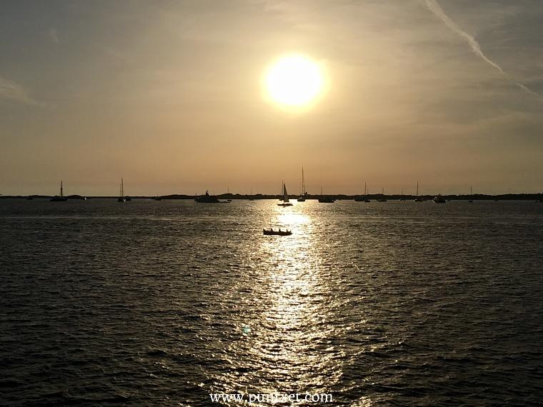 PUNTXET Viaje de 3 días a Formentera, puerto de Ibiza