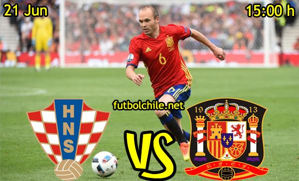 VER STREAM RESULTADO EN VIVO, ONLINE: Croacia vs España