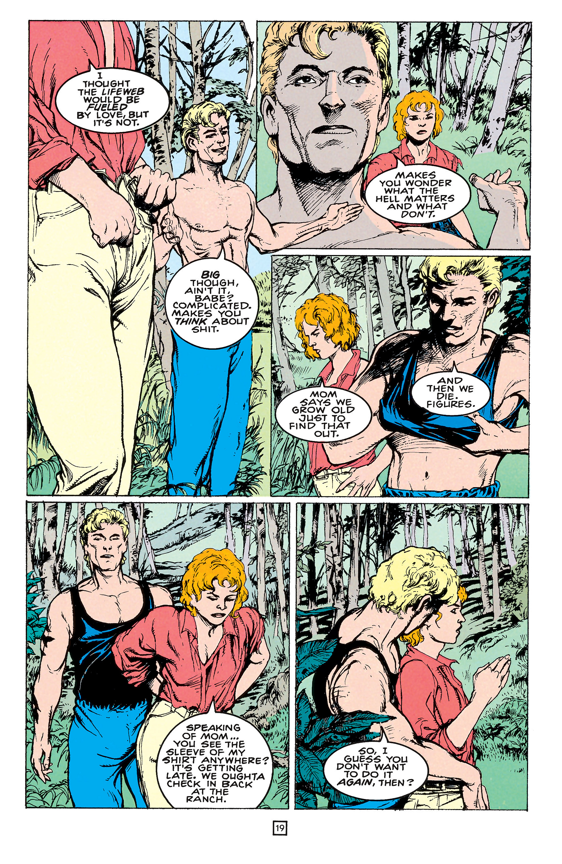 Read online Animal Man (1988) comic -  Issue #65 - 19