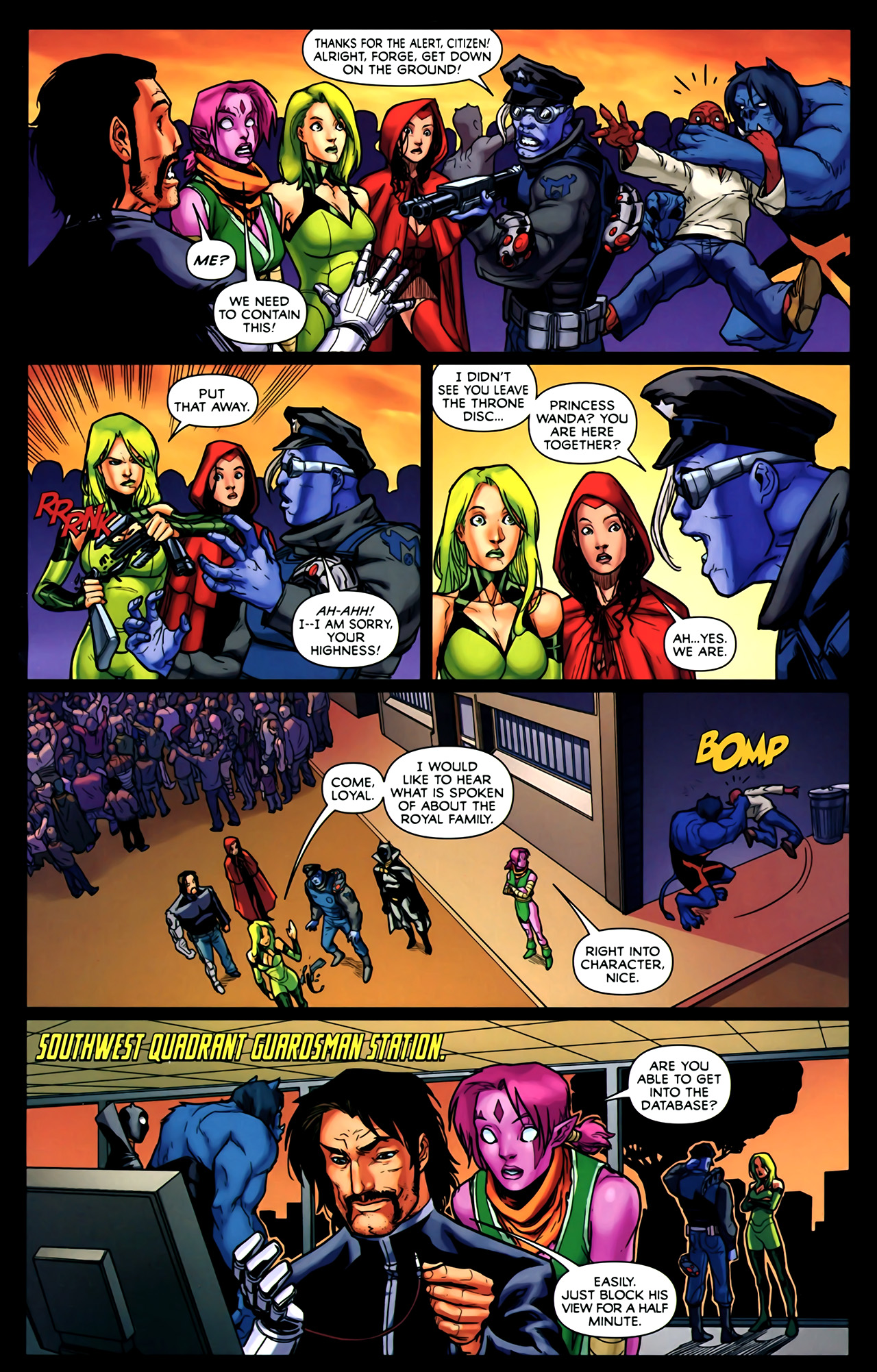 Read online Exiles (2009) comic -  Issue #2 - 8