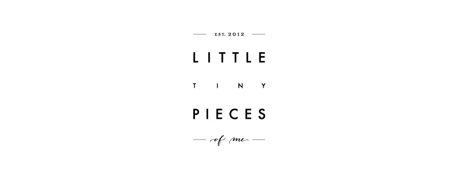 Blog Inspiration: Little Tiny Pieces of Me