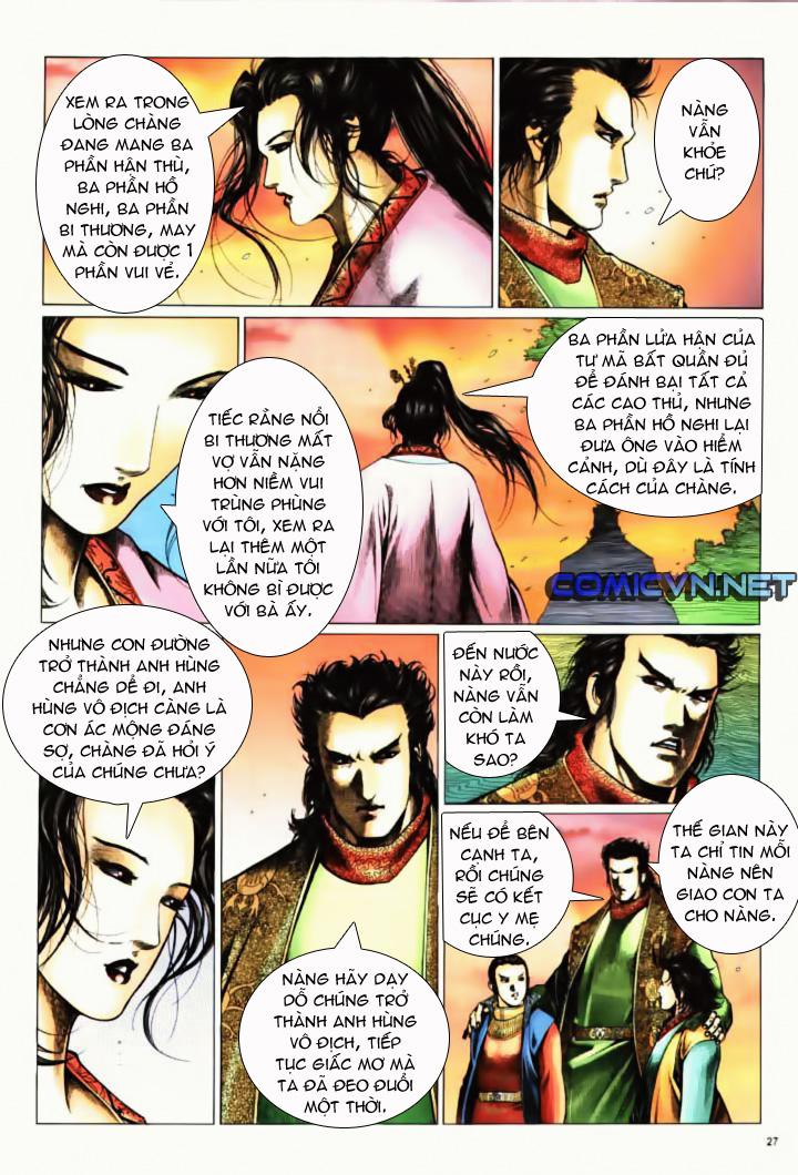 Anh hùng vô lệ Chap 10 trang 24
