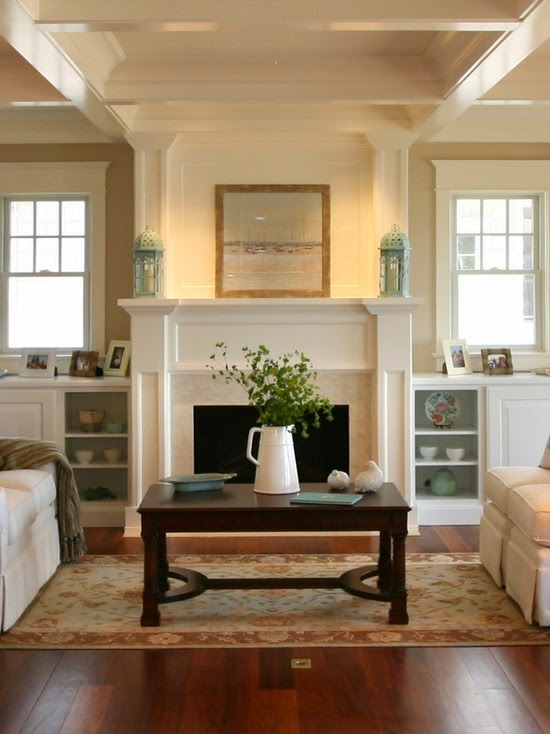 Decor you adore adding custom cabinetry with an existing - Living room built ins ...