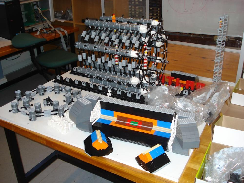 Lego Model Of The Large Hadron Collider Damn Cool Pictures