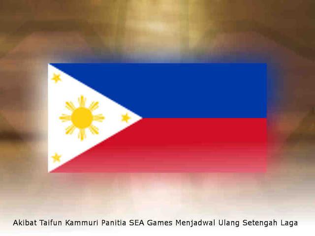 Akibat Taifun Kammuri Panitia SEA Games Menjadwal Ulang Setengah Laga
