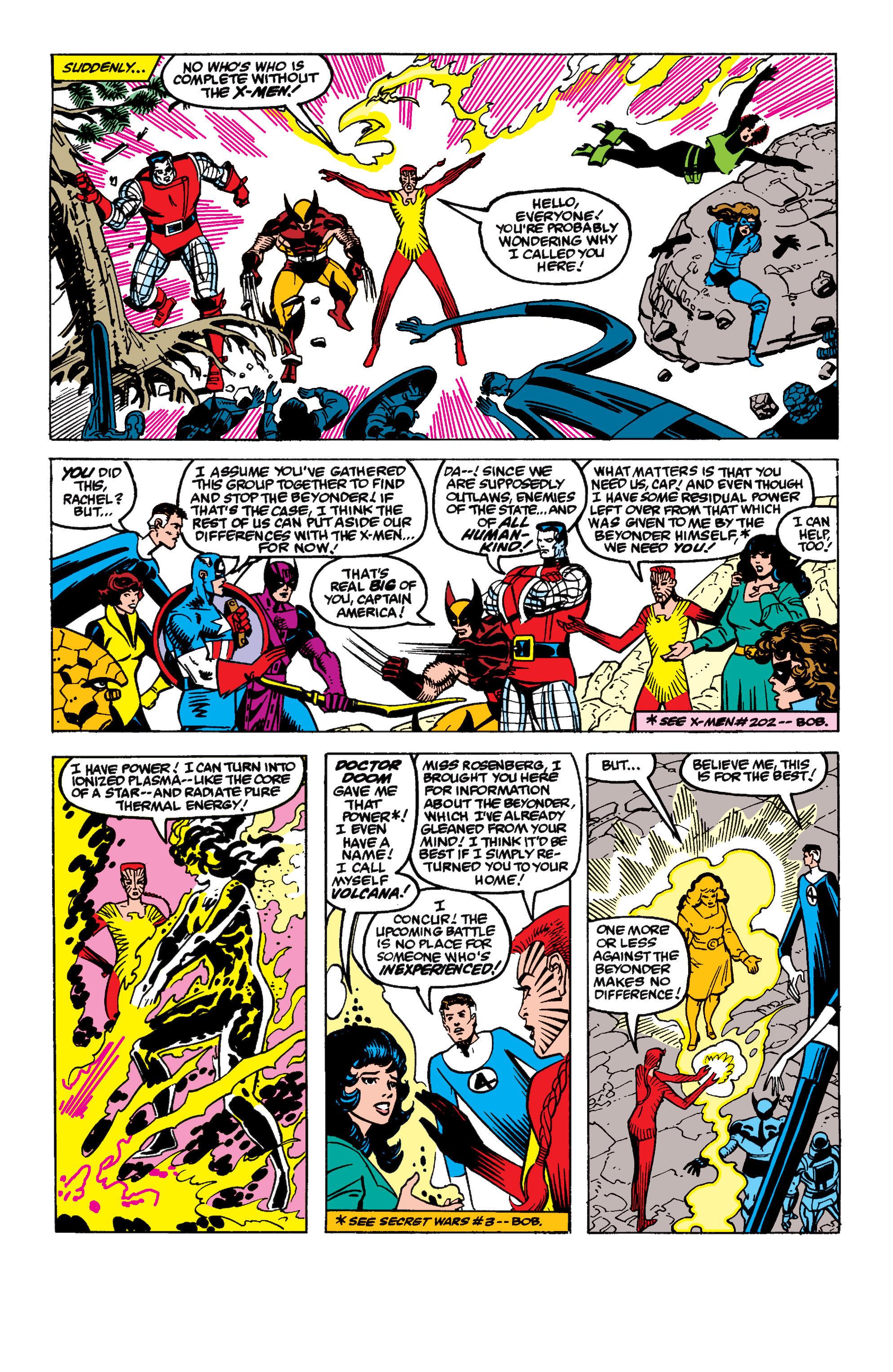 Read online Secret Wars II comic -  Issue #9 - 6