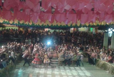 Camalaú comemora São João 2016 com arraial das Escolas Municipais e Grupos Sociais