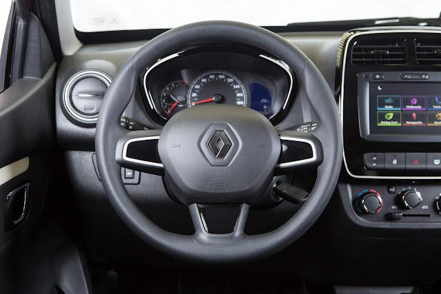 Novo Renault Kwid 2018 - Brasil - interior