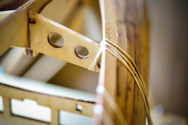 wooden radio control sailboat
