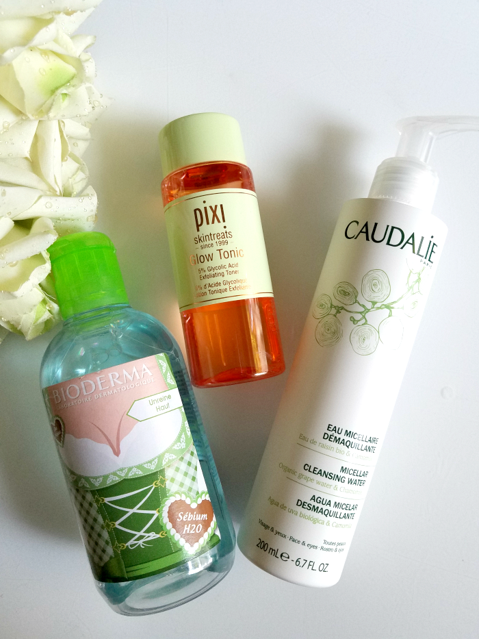 Best of Skincare 2017 - Cleanser / Hautreinigung Micellar Face Waters bioderma sebium h2o, caudalie micellar water, pixi glow tonic - Madame Keke The Luxury Beauty & Lifestyle Blog