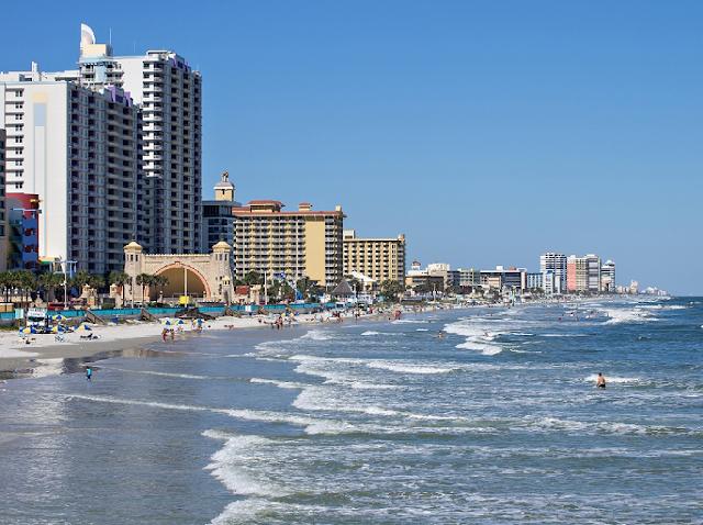 Cidade Daytona Beach na Flórida