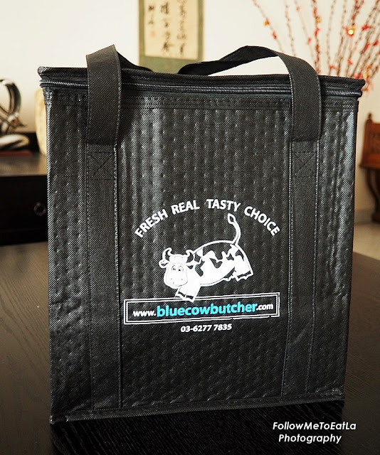 Nice Chiller Bag Courtesy From Blue Cow Butcher