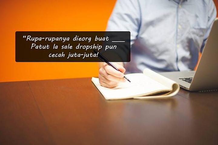 Strategi otai buat jualan jutaan ringgit dengan dropship