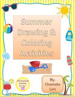 https://www.teacherspayteachers.com/Product/Summer-Drawing-and-Coloring-Activities-3815437
