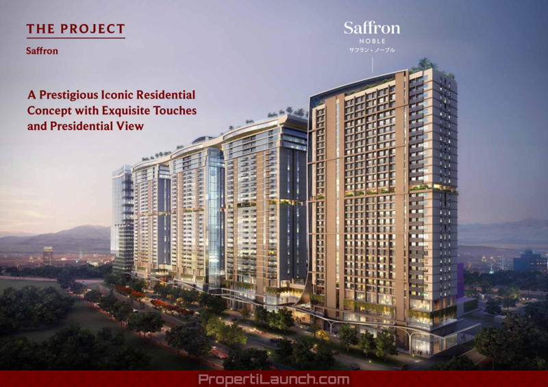 Saffron Noble Sentul Apartment