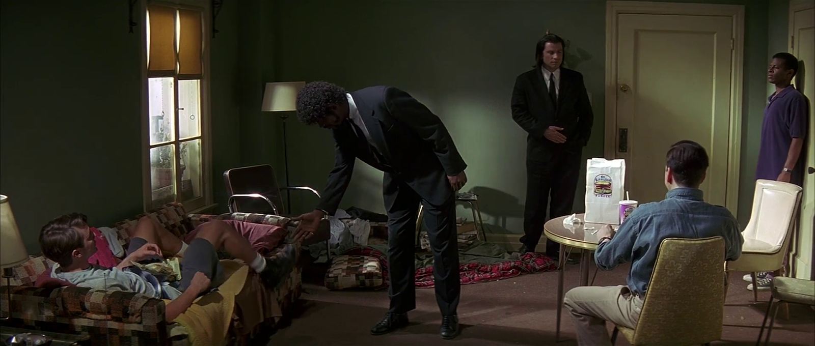 What makes the dialogue so great in quentin tarantino images