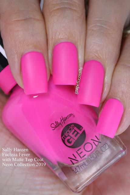 Sally Hansen Fuchsia Fever Neon Collection