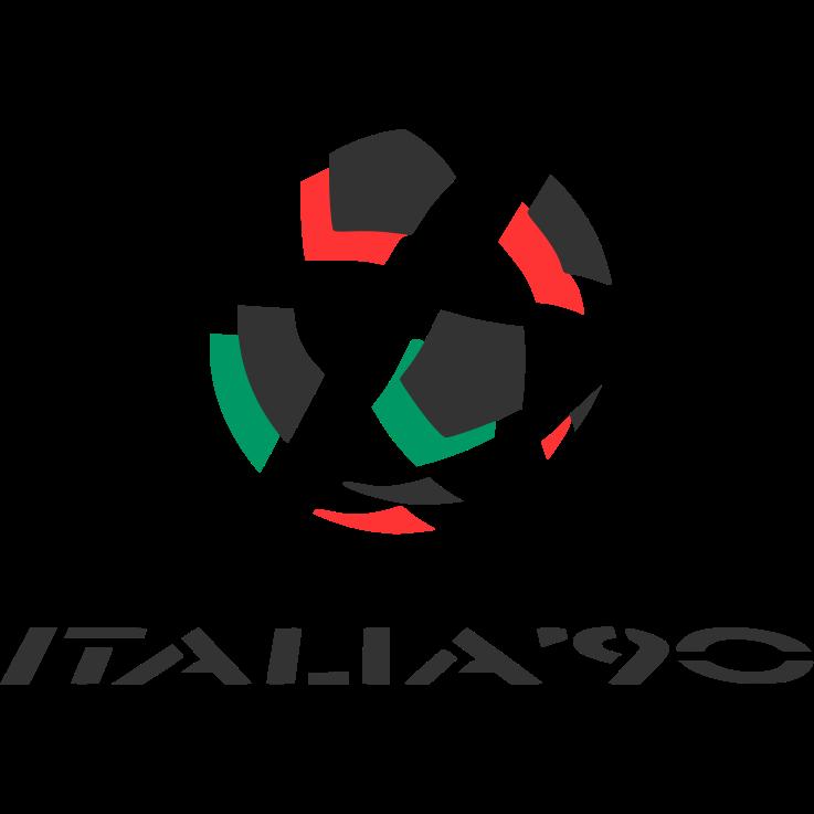 Logo Piala Dunia FIFA Tahun 1990 Italia