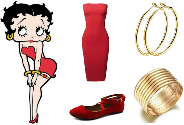 Betty Boop Costume Idea - Easy Halloween Costume - easy cosplay