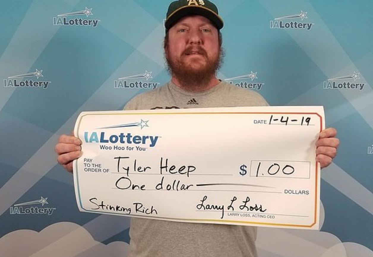 lottery, Tyler Heep