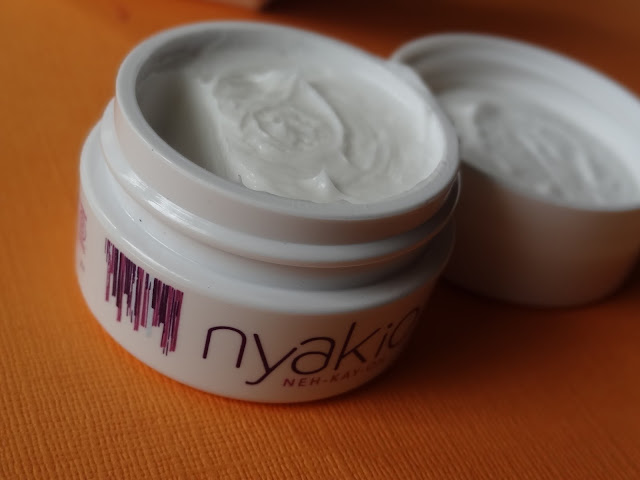 Nyakio Line Smoothing Lip & Eye Cream and African Black Soap Purifying Mud Mask