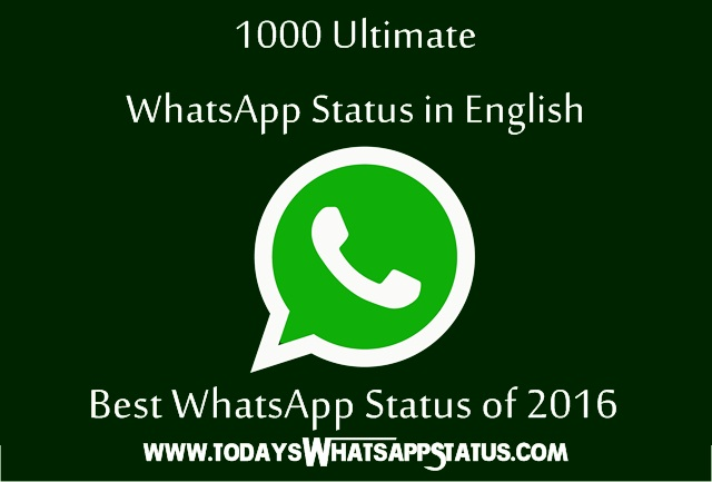 1000 ultimate status for whatsapp in english best whatsapp status of 2016 anymessages. Black Bedroom Furniture Sets. Home Design Ideas
