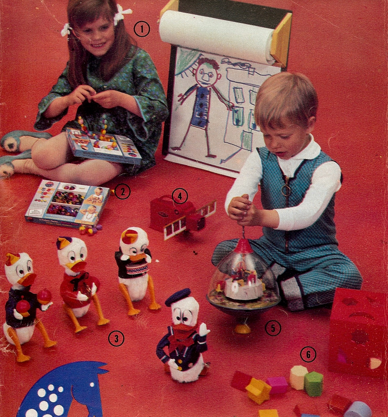 Nostalgorama: leksaksreklam 1969