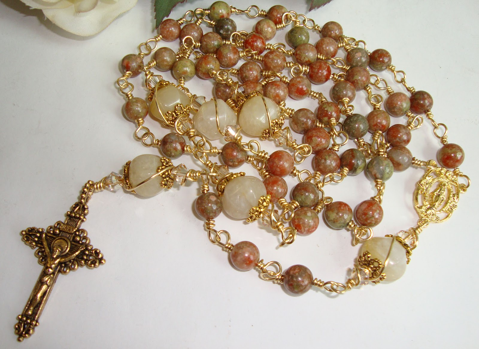 Etsy Rosary Guild Team: Catholic Rosary in Beautiful ...