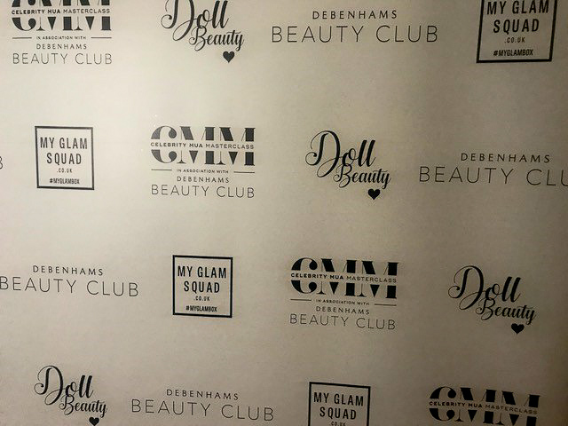 Debenhams Beauty Club / Doll Beauty / Celebrity MUA Masterclass / My Glam Squad by AMYSMAKEUPBOX