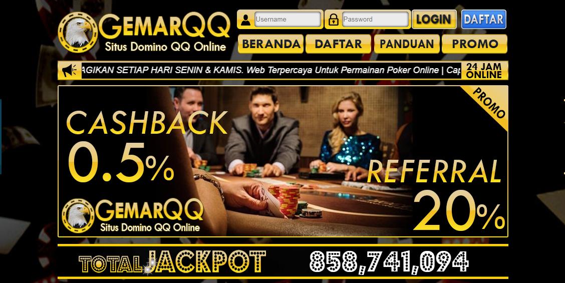 GemarQQ Agen Judi Domino Online Terpercaya Indonesia