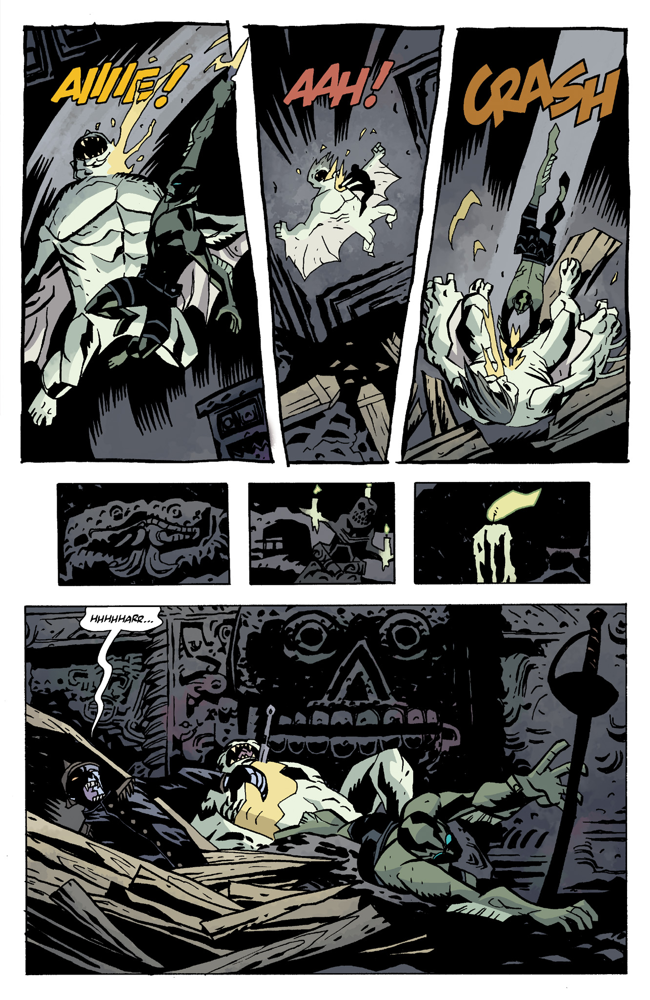 Read online Abe Sapien comic -  Issue #8 - 21