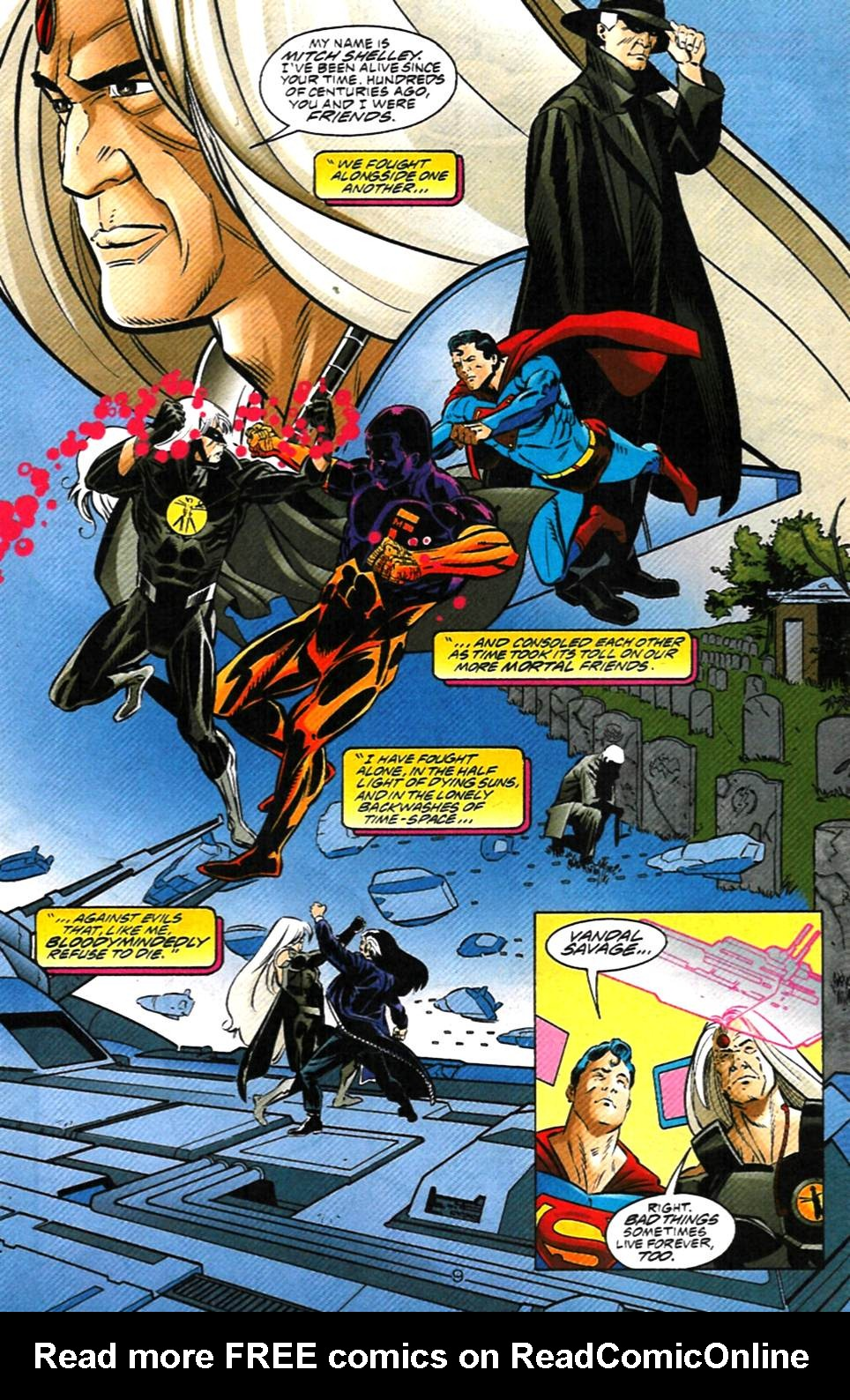 Read online Adventures of Superman (1987) comic -  Issue #1000000 - 10