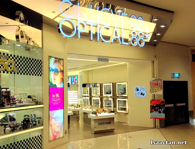 Optical 88 Midvalley Megamall where I made my new spectacles