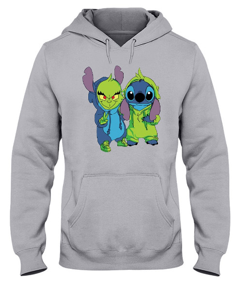 Stitch And Grinch Hoodie, Stitch And Grinch Sweatshirt, Stitch And Grinch Sweater, Stitch And Grinch T Shirts