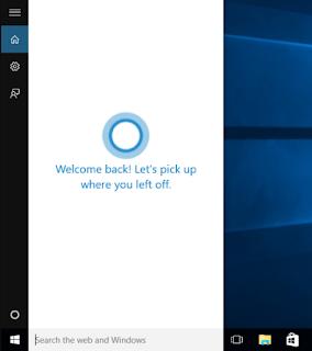 Disable fitur cortana pada Windows 10 jika memang tidak di perlukan