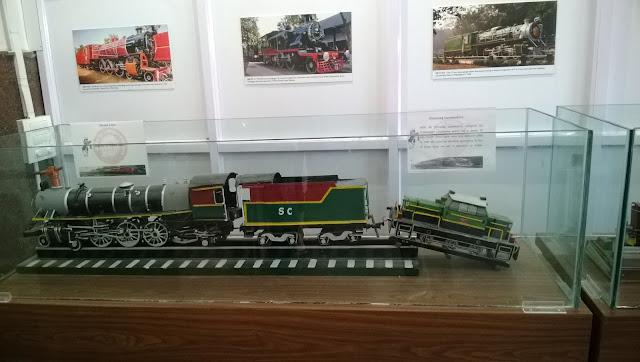 Inside Rail Museum at Kacheguda