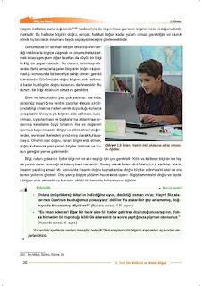9. Sınıf Din Kültürü Ders Kitabı Cevapları Nev Yayınları Sayfa 20