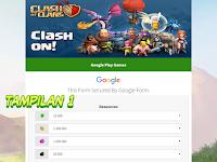 Script Phising COC Terbaru Tampilan Google