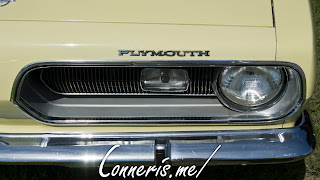 1968 Plymouth Barracuda Hood Badge