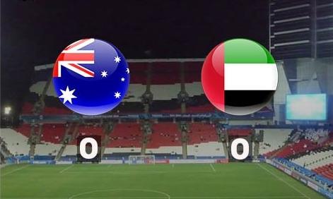 نتيجة مباراة الامارات واستراليا اليوم في ربع نهائي كأس آسيا 2019