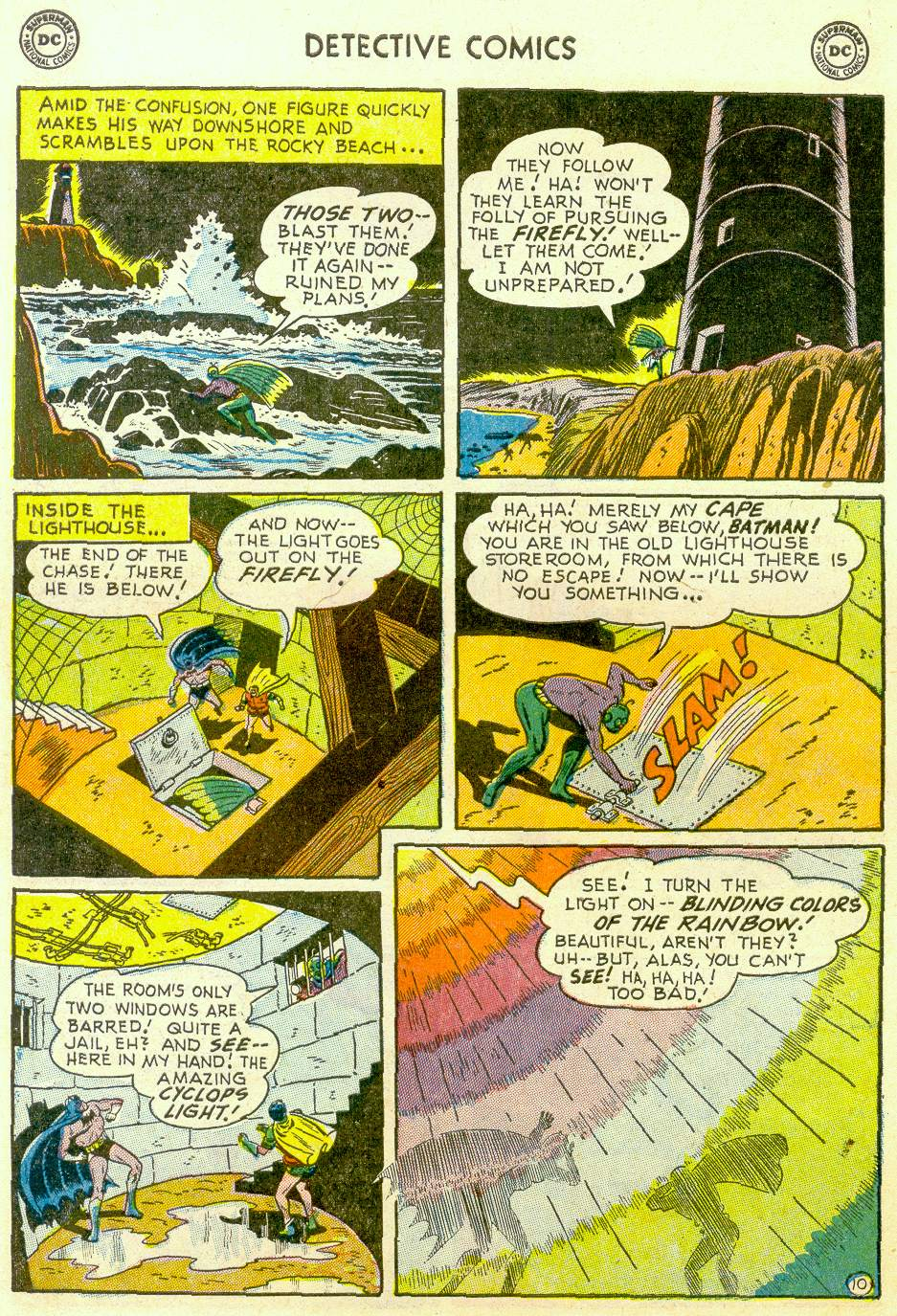 Read online Detective Comics (1937) comic -  Issue #184 - 12