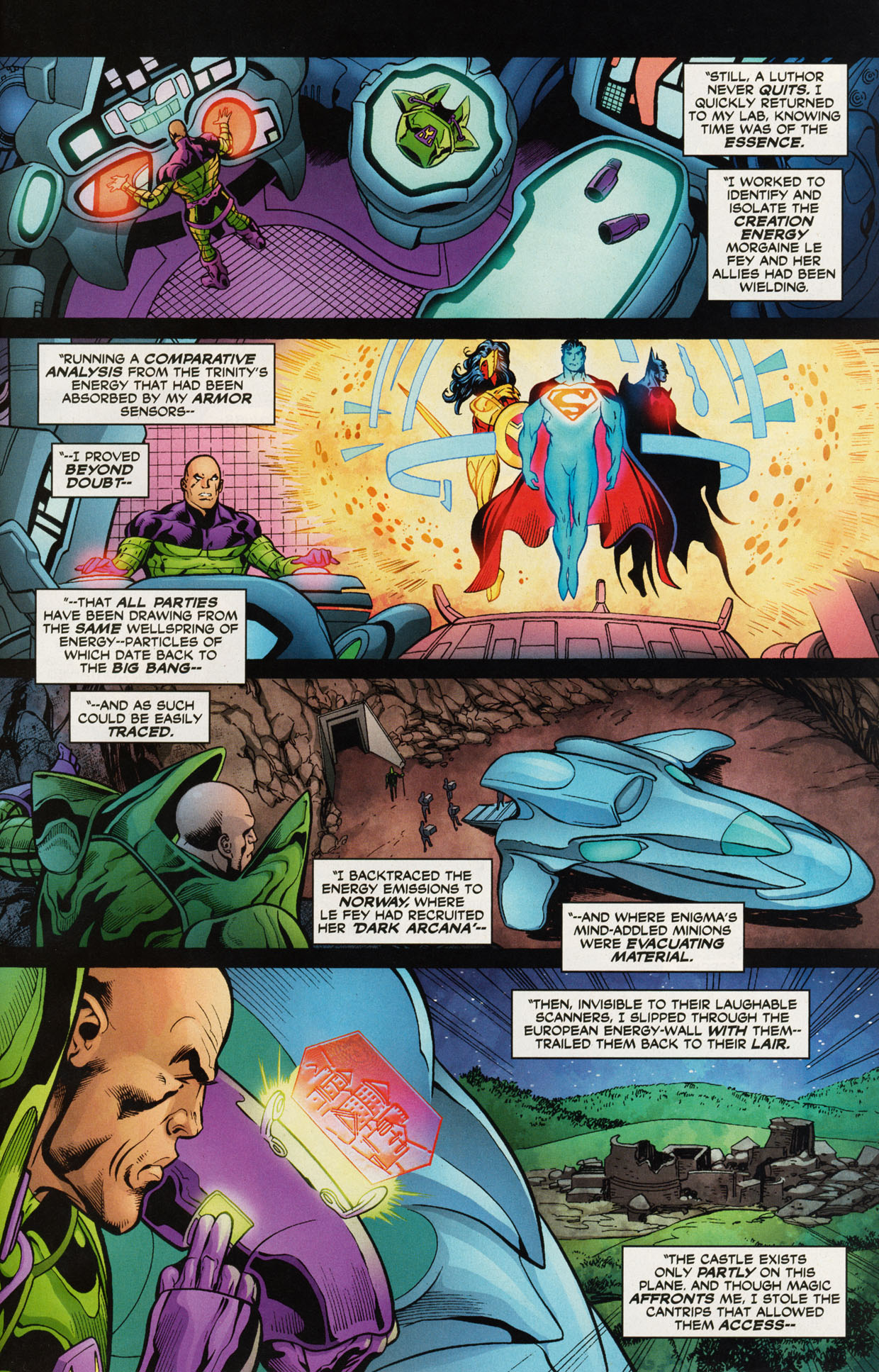 Read online Trinity (2008) comic -  Issue #47 - 22