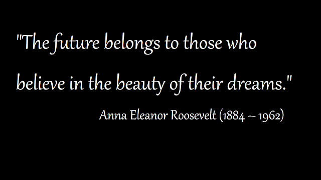 motivational sayings from Anna Eleanor Roosevelt