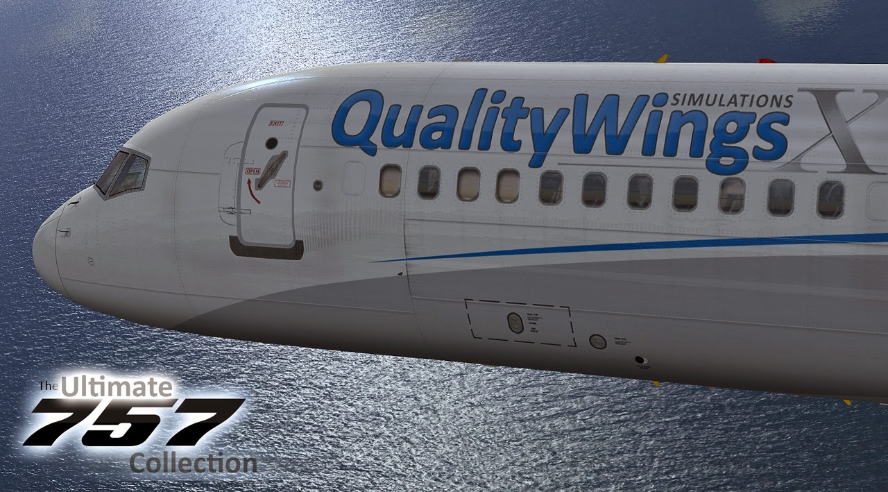Download QualityWings 757 SP2 Plus Update #FSX