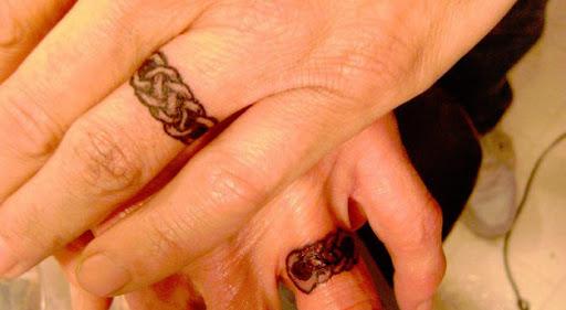 Estes celtic tatuagens de casamento