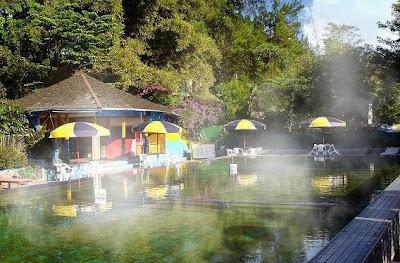 tempat wisata di bandung Pemandian air panas ciater