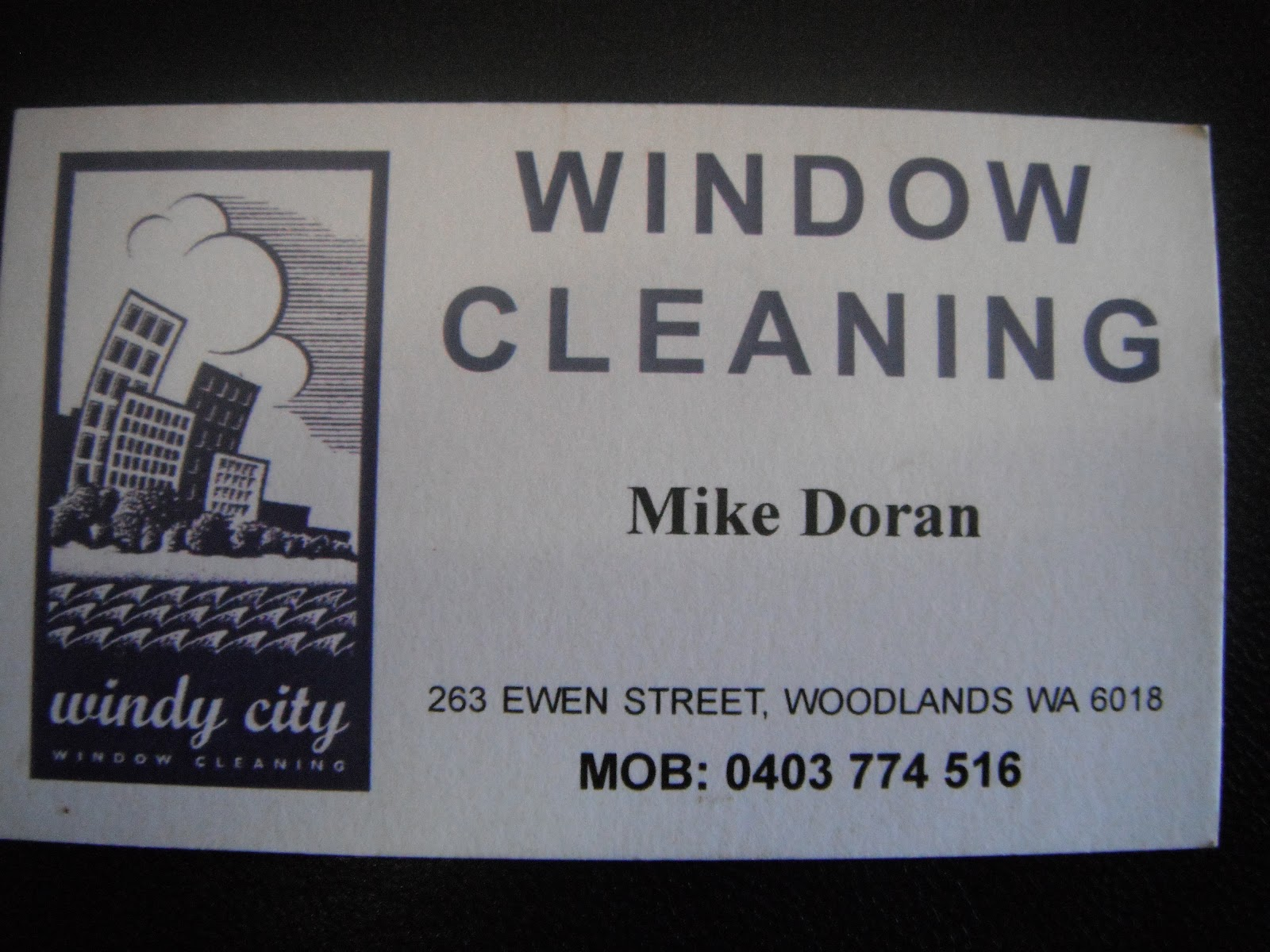 Mike Doran s Windy City Window Cleaning Perth My