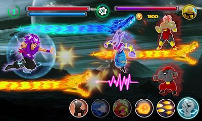 Goku Saiyan Battle Mod Apk Android