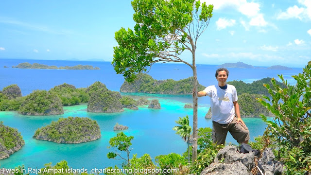 tourism attraction in Raja Ampat
