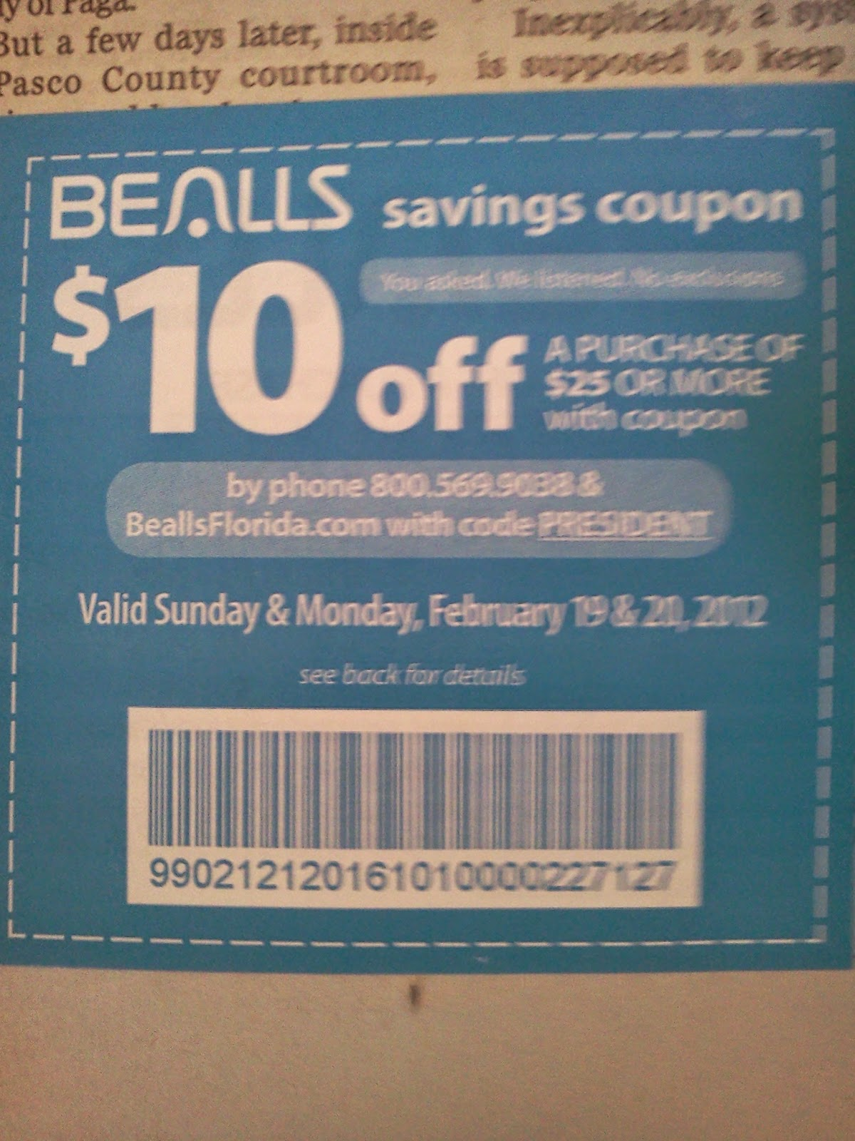 photo about Palais Royal Printable Coupons named Bealls florida printable coupon codes / Columbus in just united states of america